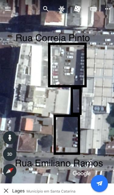 Terreno 1.801,39m² centro - Investimento
