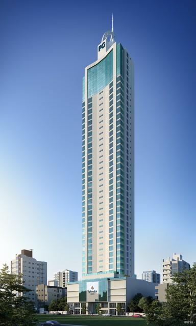 Apartamento 03 Suítes, 02 Vagas de Garagem, Splendia Tower